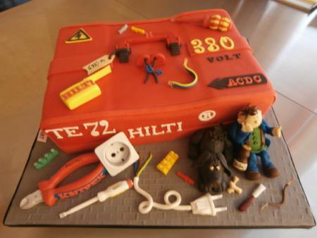 Hilti Koffer Torte Knipex